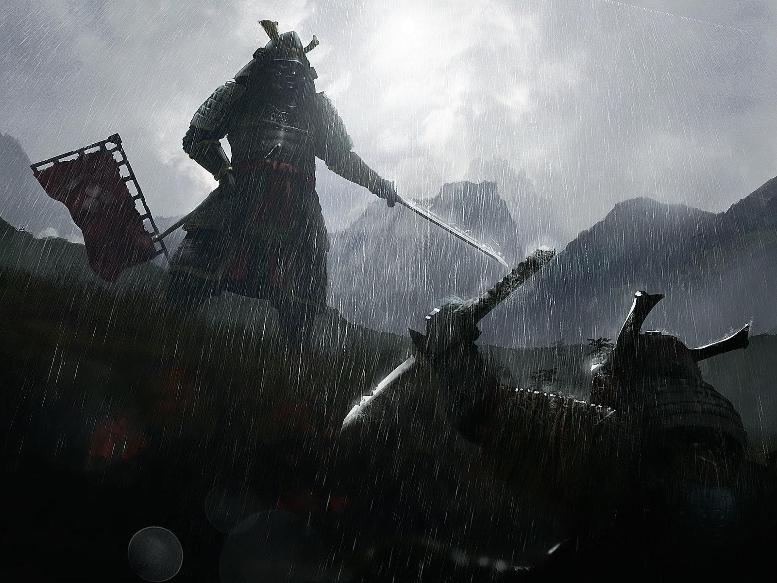 Samurai surrender