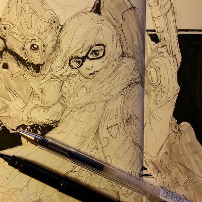 Muyoung kim sketchbook 34 wip