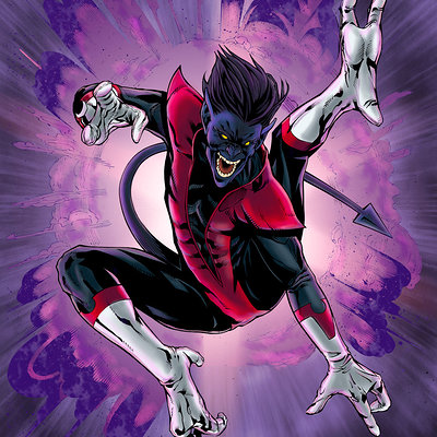Matt james nightcrawler by mattjamescomicarts d7lktxv