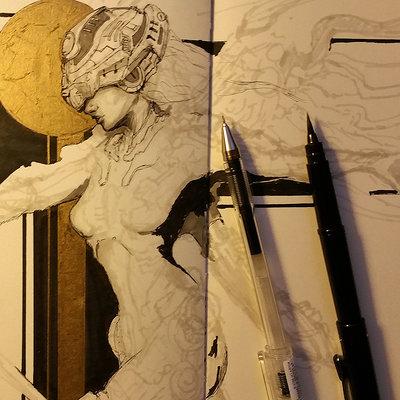 Muyoung kim sketchbook 44 wip