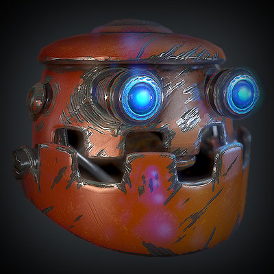 Daniel hull robot head thumbnail