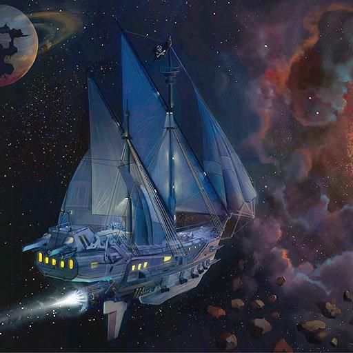фэнтези картинки парусные корабли в космосе тщательно отделяем