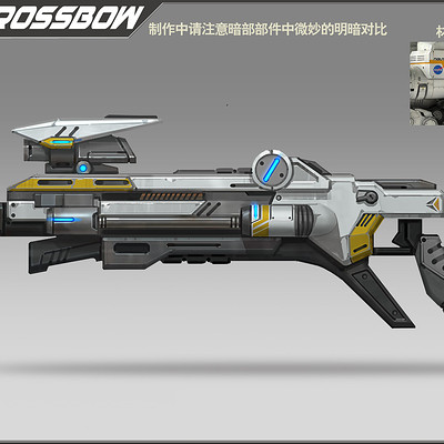 Rock d scifi crossbow