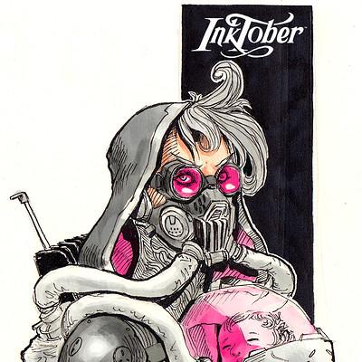 Josh matts inktober8 a