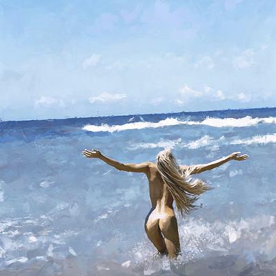 Solo art almost mermaid1200