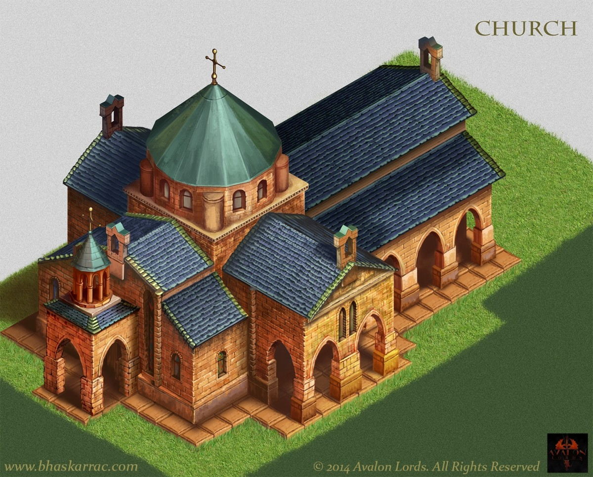 Avalon's Lord Game Concepts - Church