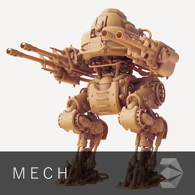 Dries deryckere mech 1
