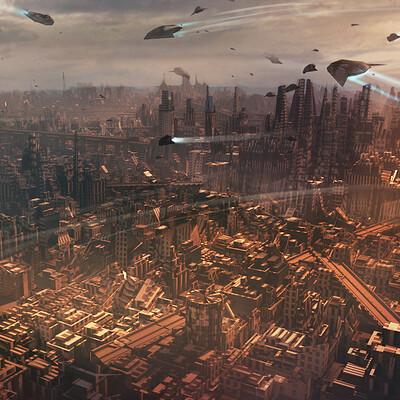 Maxime delcambre sci fi city md bannerjpg