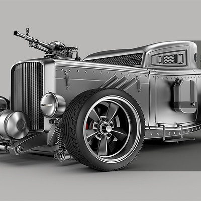 Jomar machado armored hot rod peq