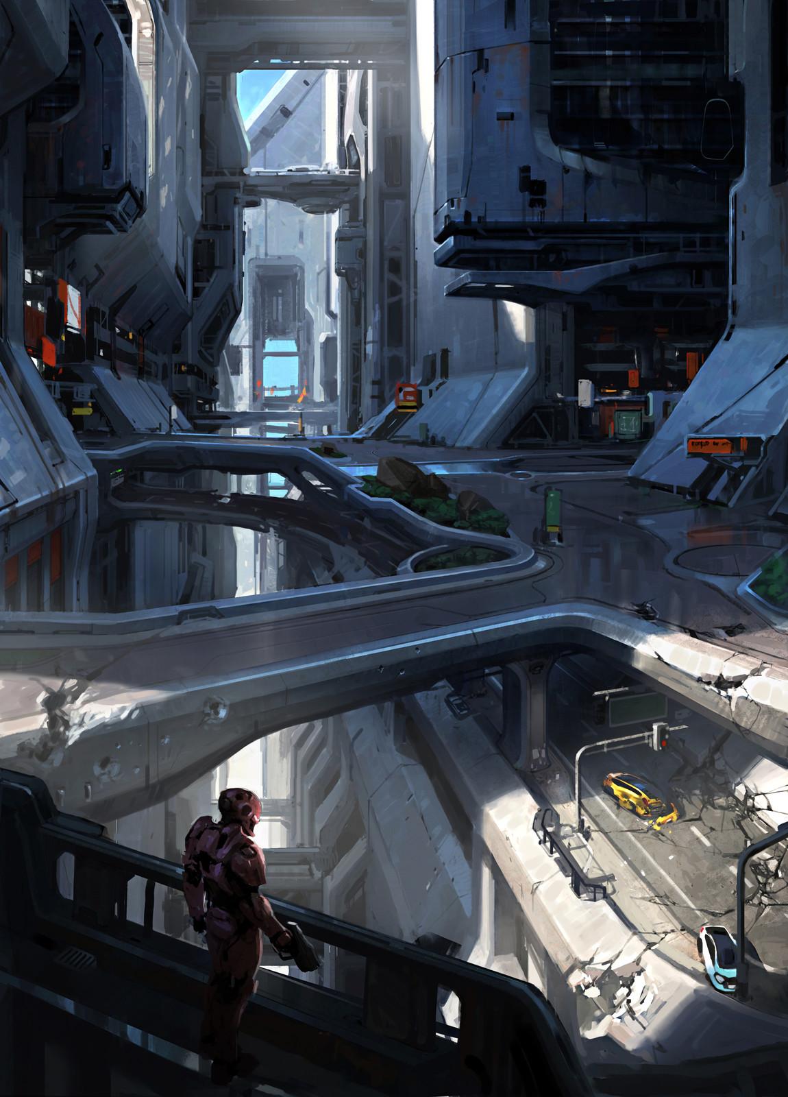 Halo 5 City Concept