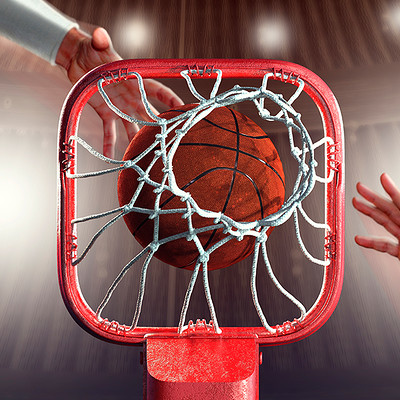 Tomislav zvonaric basketball 3d icon dribbble