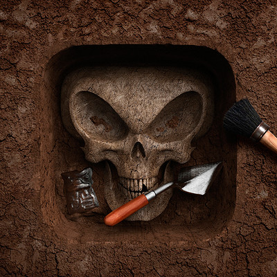 Tomislav zvonaric forbidden archeology icon dribbble