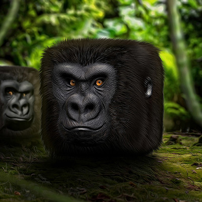Tomislav zvonaric gorilla ios icon scene 800x600