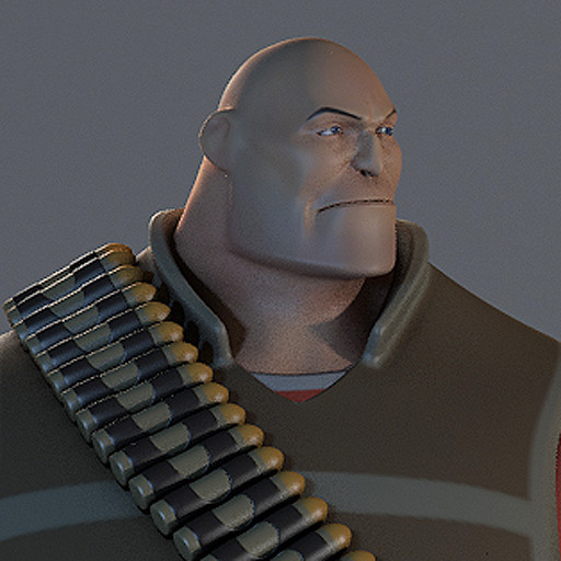 Heavy TF2 Fanart