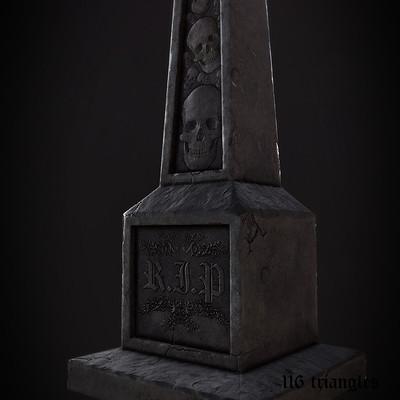 Marius popa tombstone c close