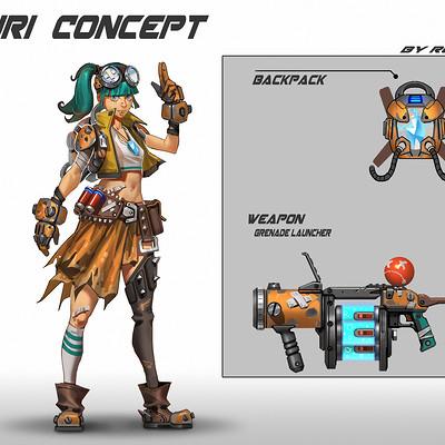 Rock d yuri concept