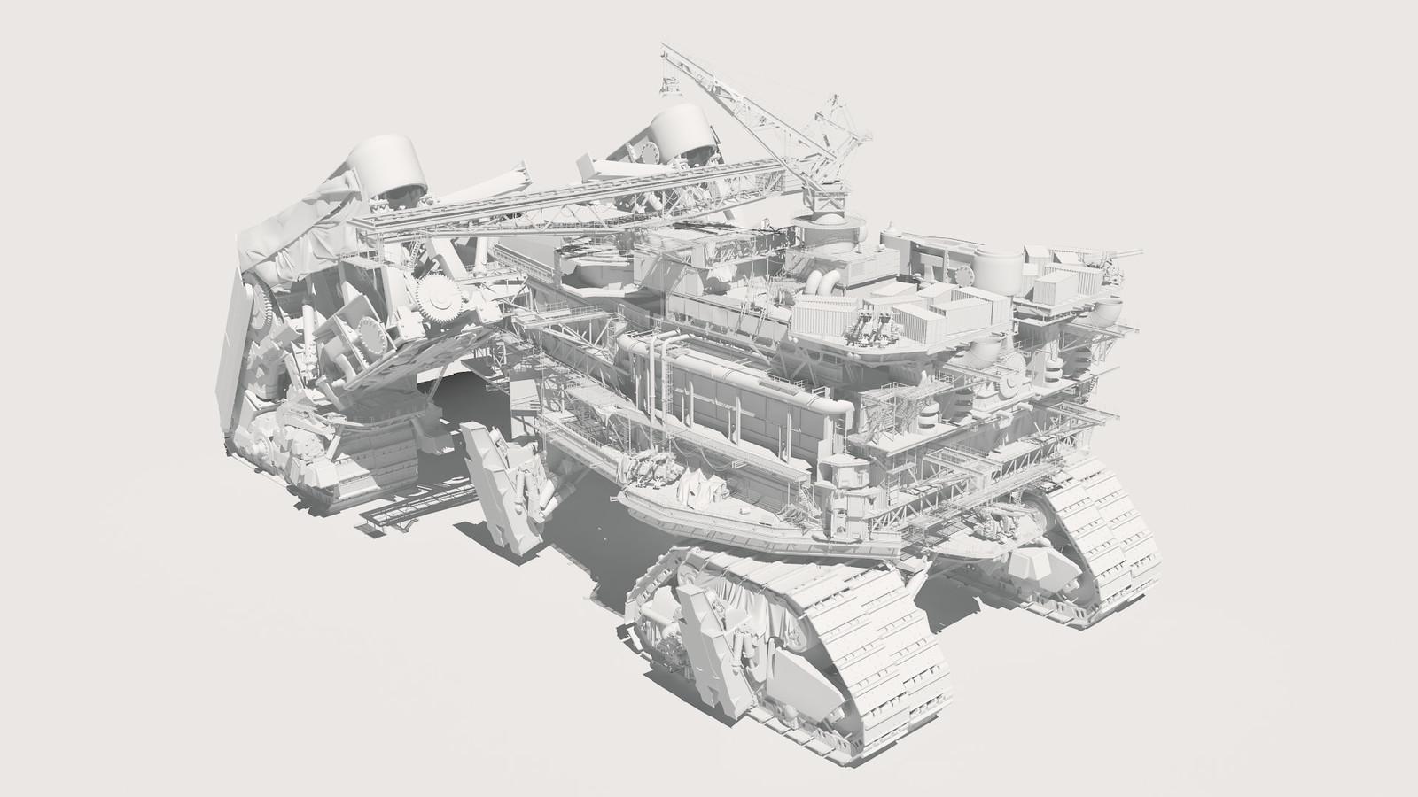 Runaway - Salt-Eater Model