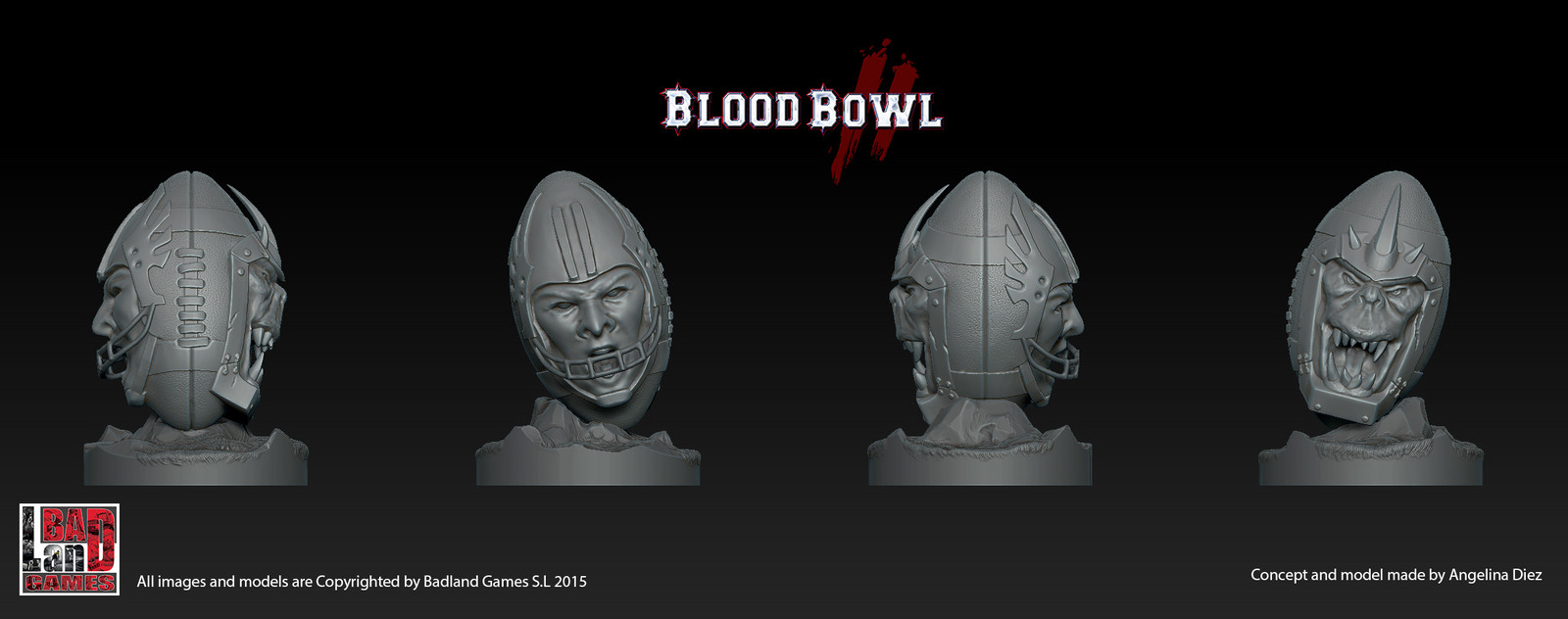Blood Bowl Balls Special Miniatures