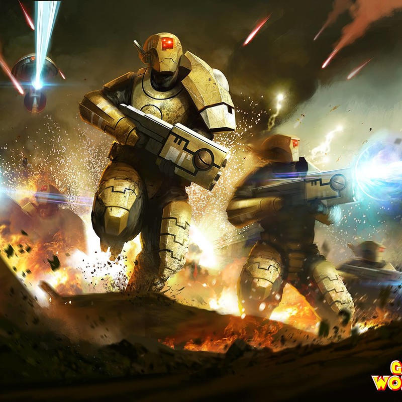 Games Workshop Commission: Tau Fire Warriors