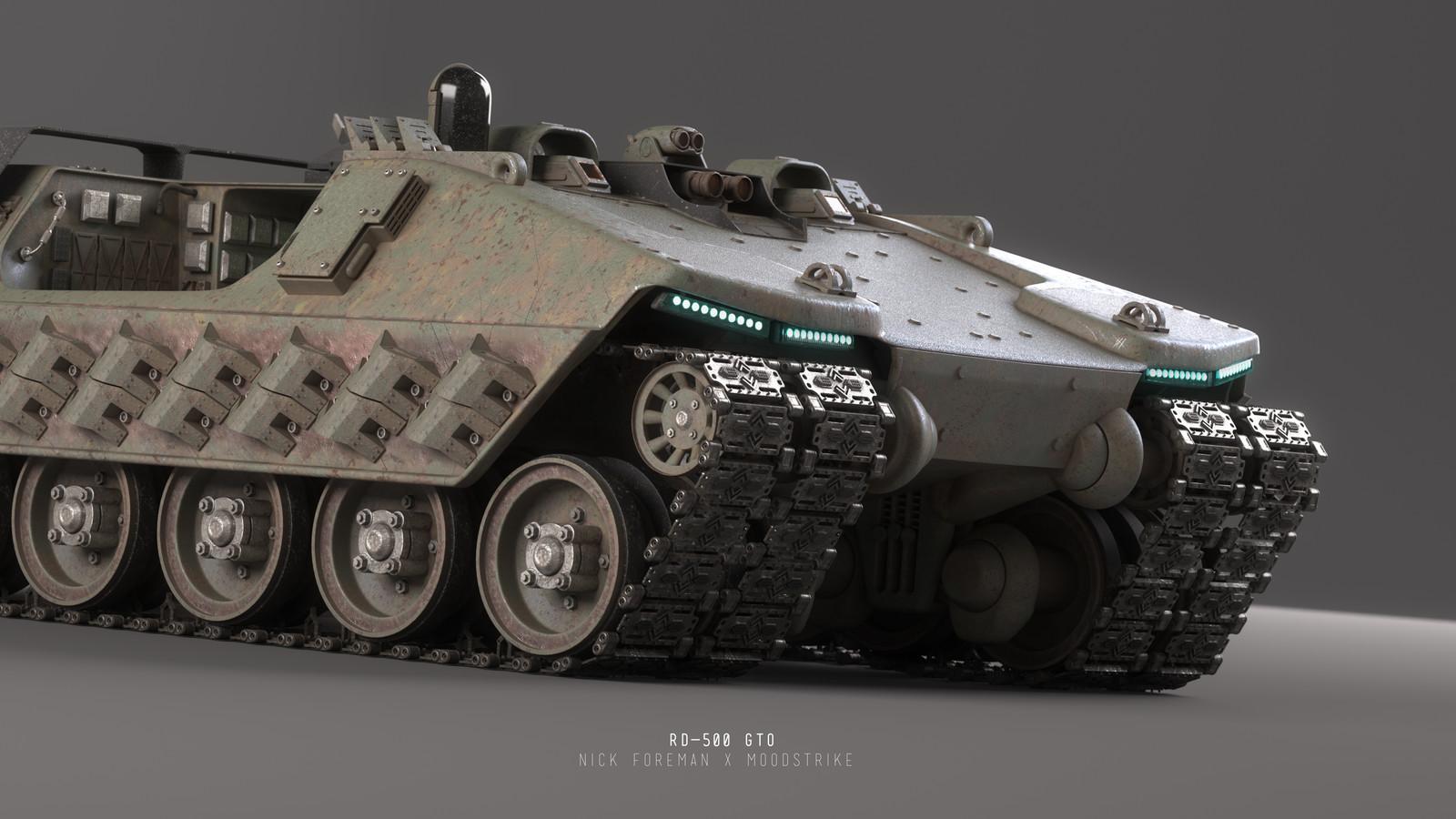 RD-500 GTO - RECON TANK