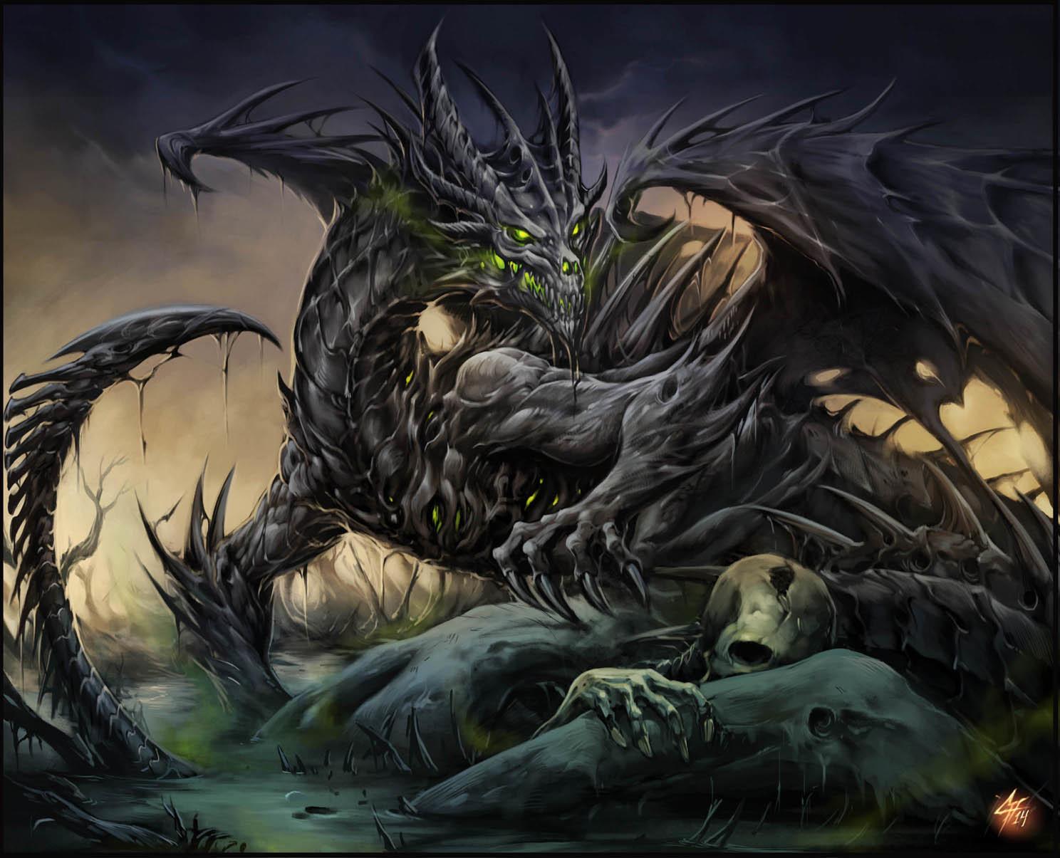 Картинки дракона смерти