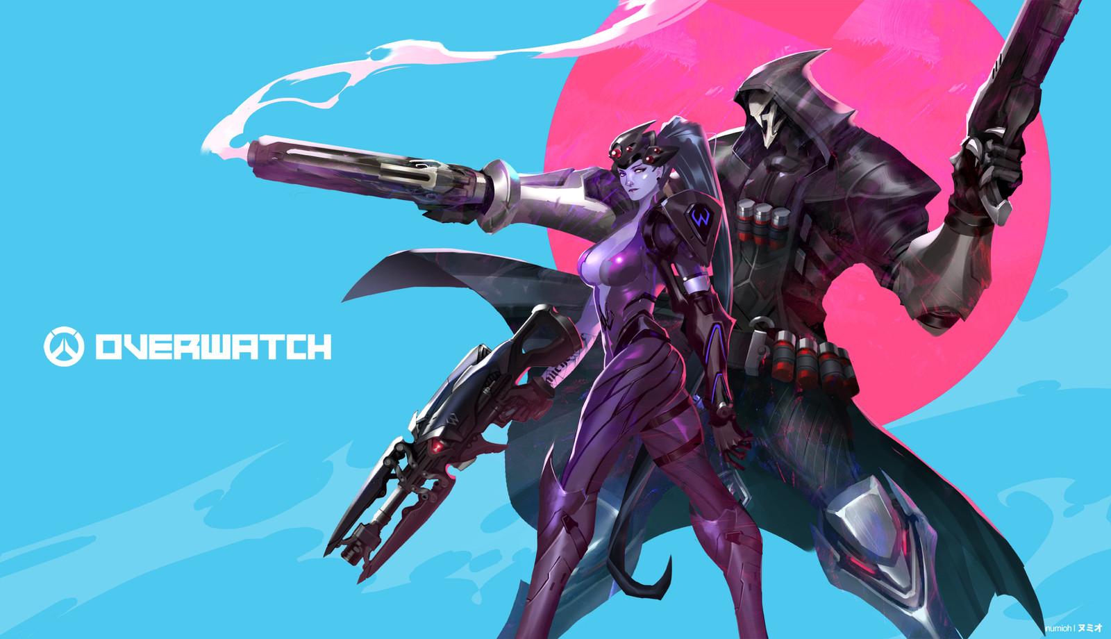 Overwatch | Widow Maker & Reaper