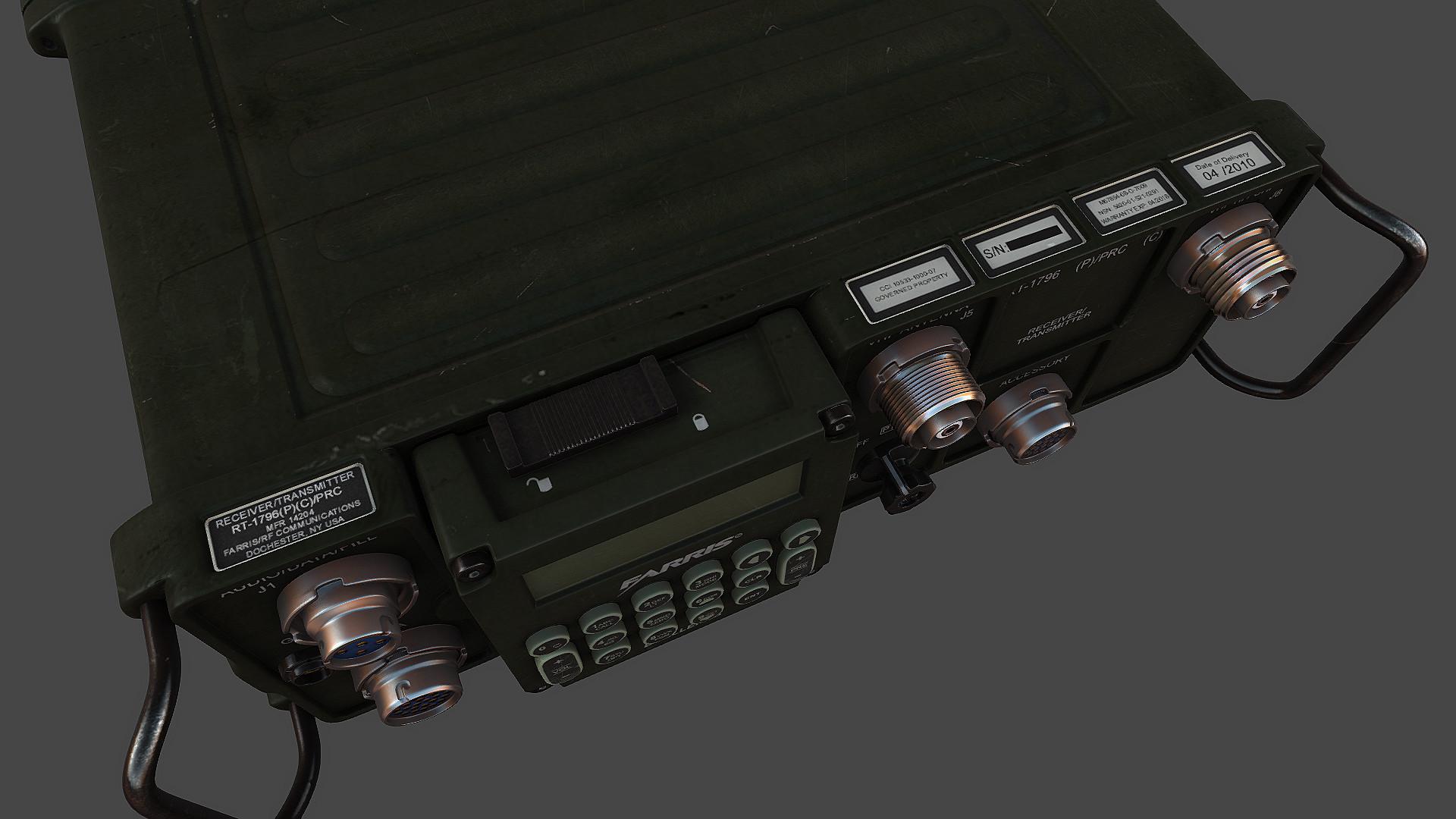 ArtStation - AN/PRC-117F, Jeff Eicher