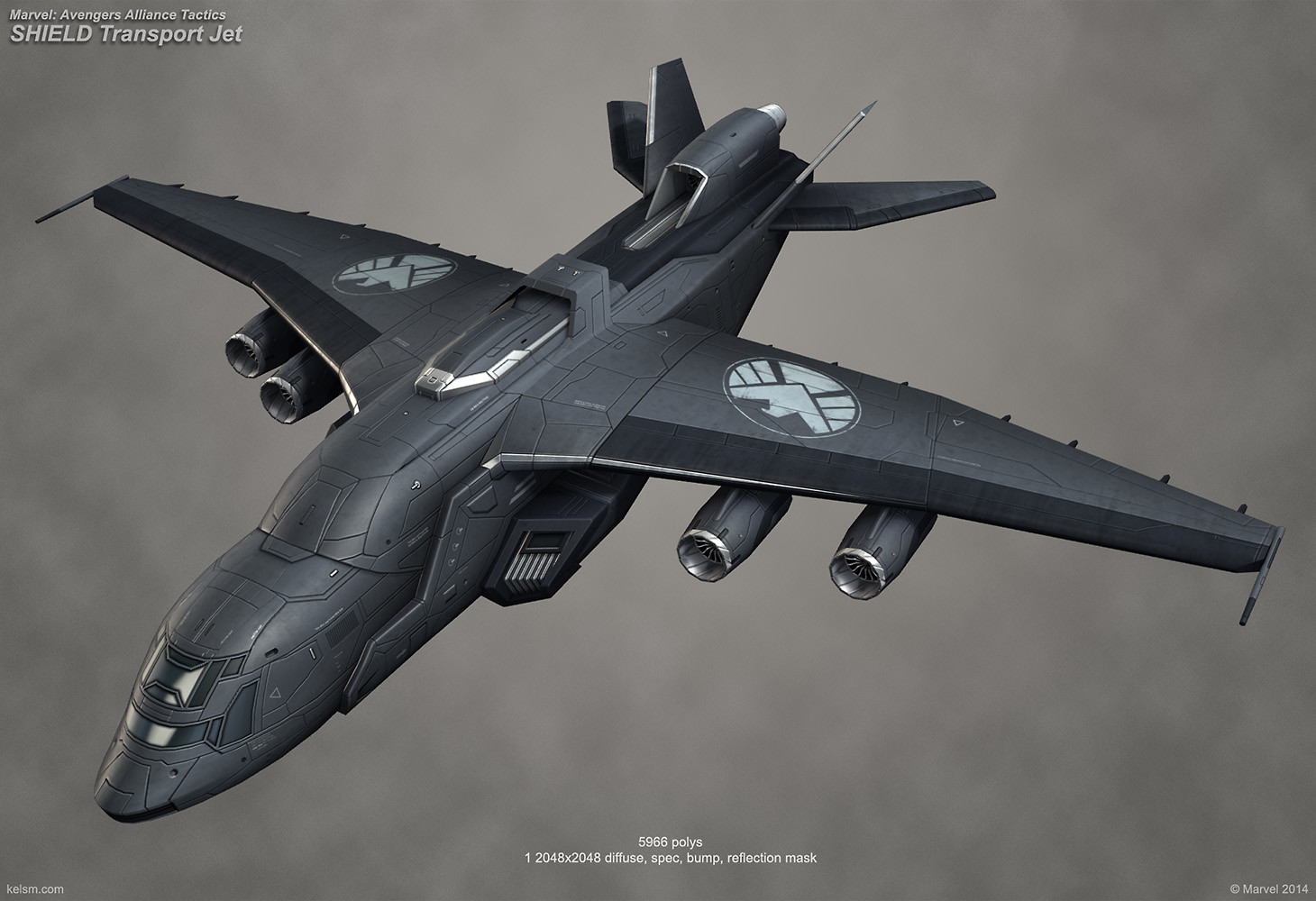 S.H.I.E.L.D. Transport Jet