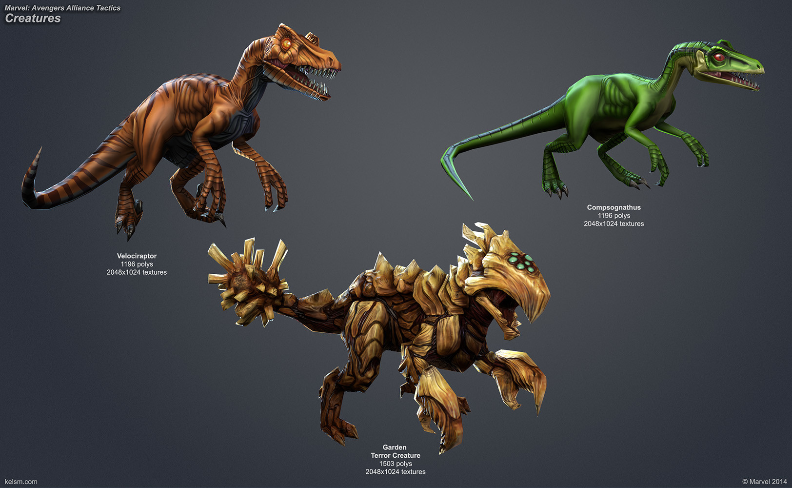 Dinos and Creature