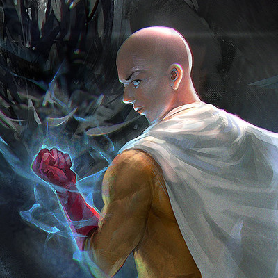 Jeremy chong onepunchman sketch4