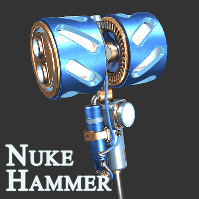 Brandon mccready nuke hammer title