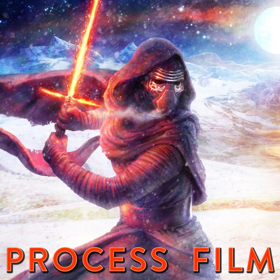 Star Wars - The Force Awakens - ImagineFX Cover Illustration