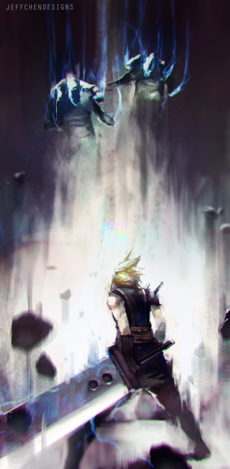 Cloud Storms Into Battle!