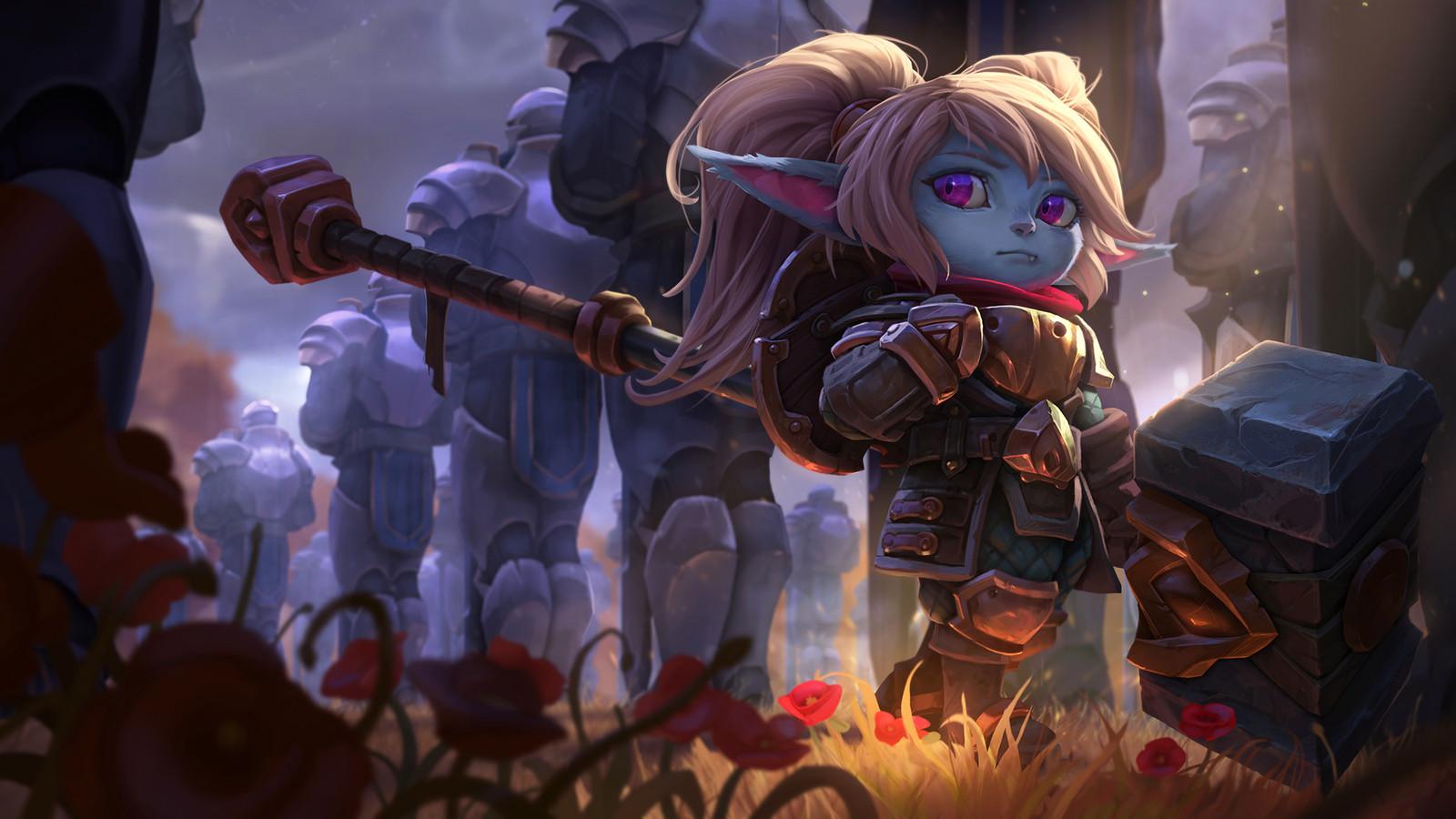 Poppy, Keeper of the Hammer