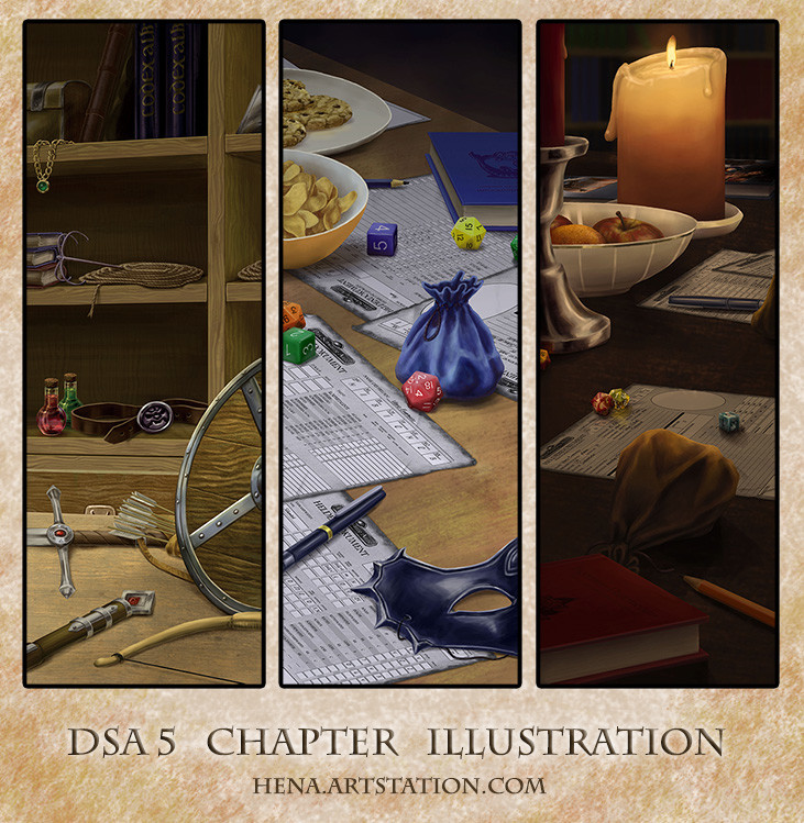 DSA: Chapter Illustration