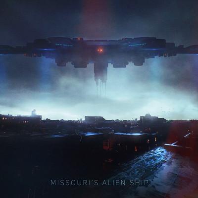 Dmitry bogolyubov alien ship artstation