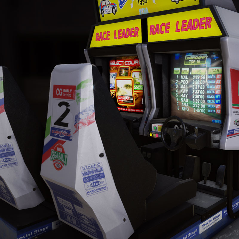 Sega Rally Arcade Twin