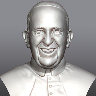 Tomislav veg pope francis front