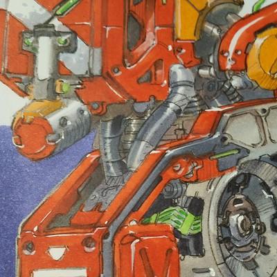 Tony leonard droid closeup