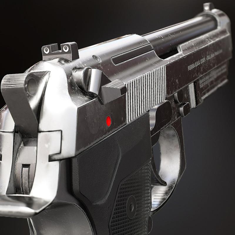 M9A1 Chrome