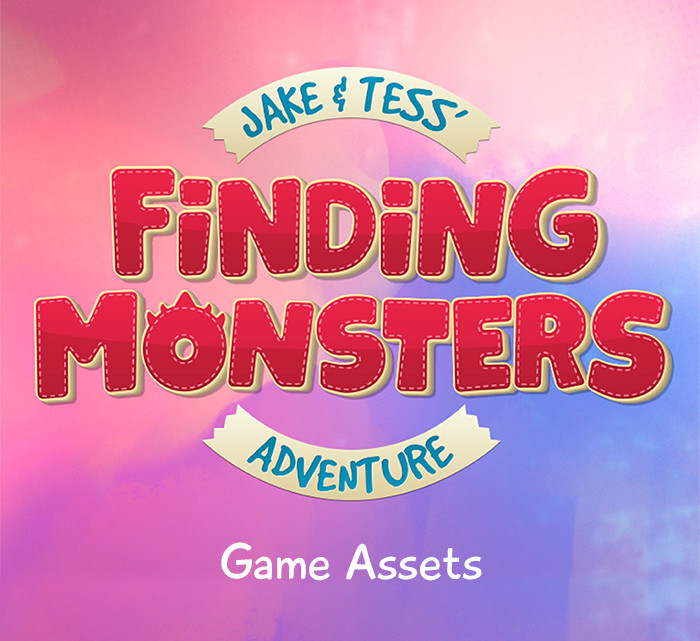 Finding Monsters - Game Assets