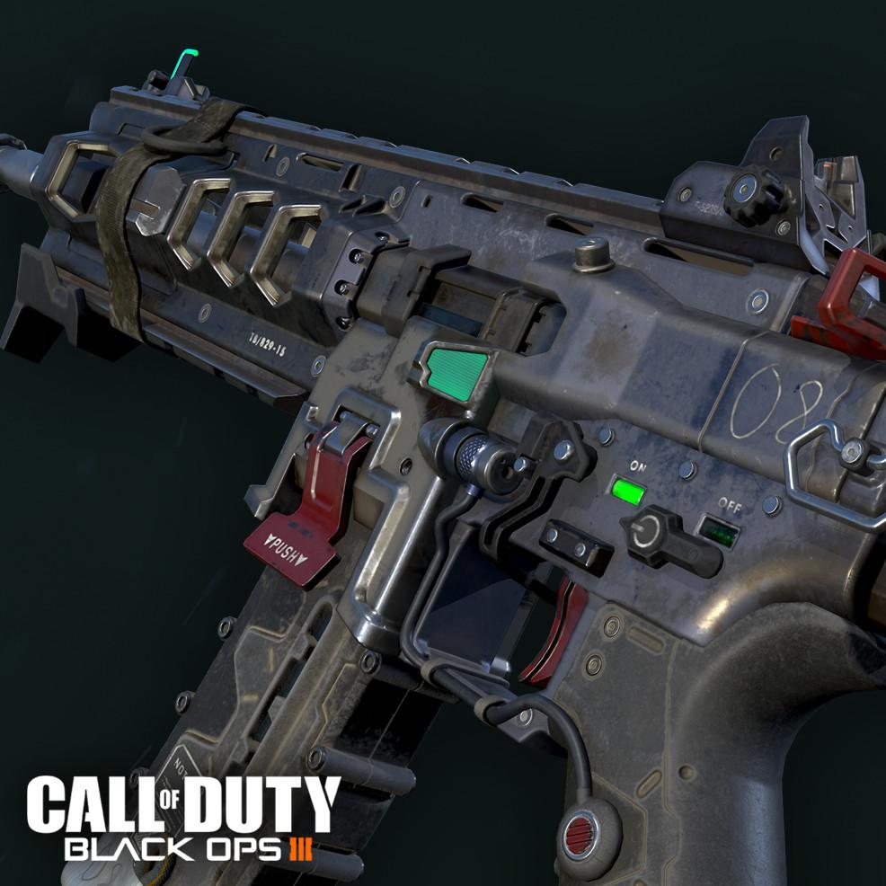 Artstation Black Ops 3 Icr 1 Assault Rifle Ethan Hiley