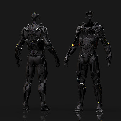 Exoskeleton Concept Design - FRAMESHIFT GAME CONCEPT ART