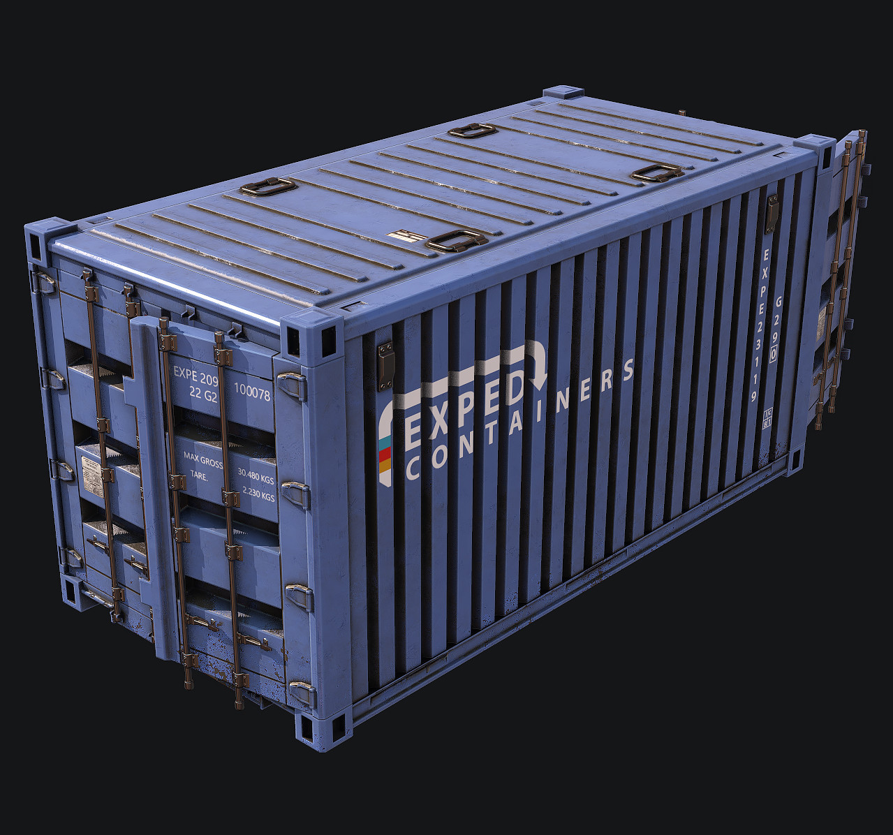 Asset - Xcom Style Antarctic Research Station - Container Crate