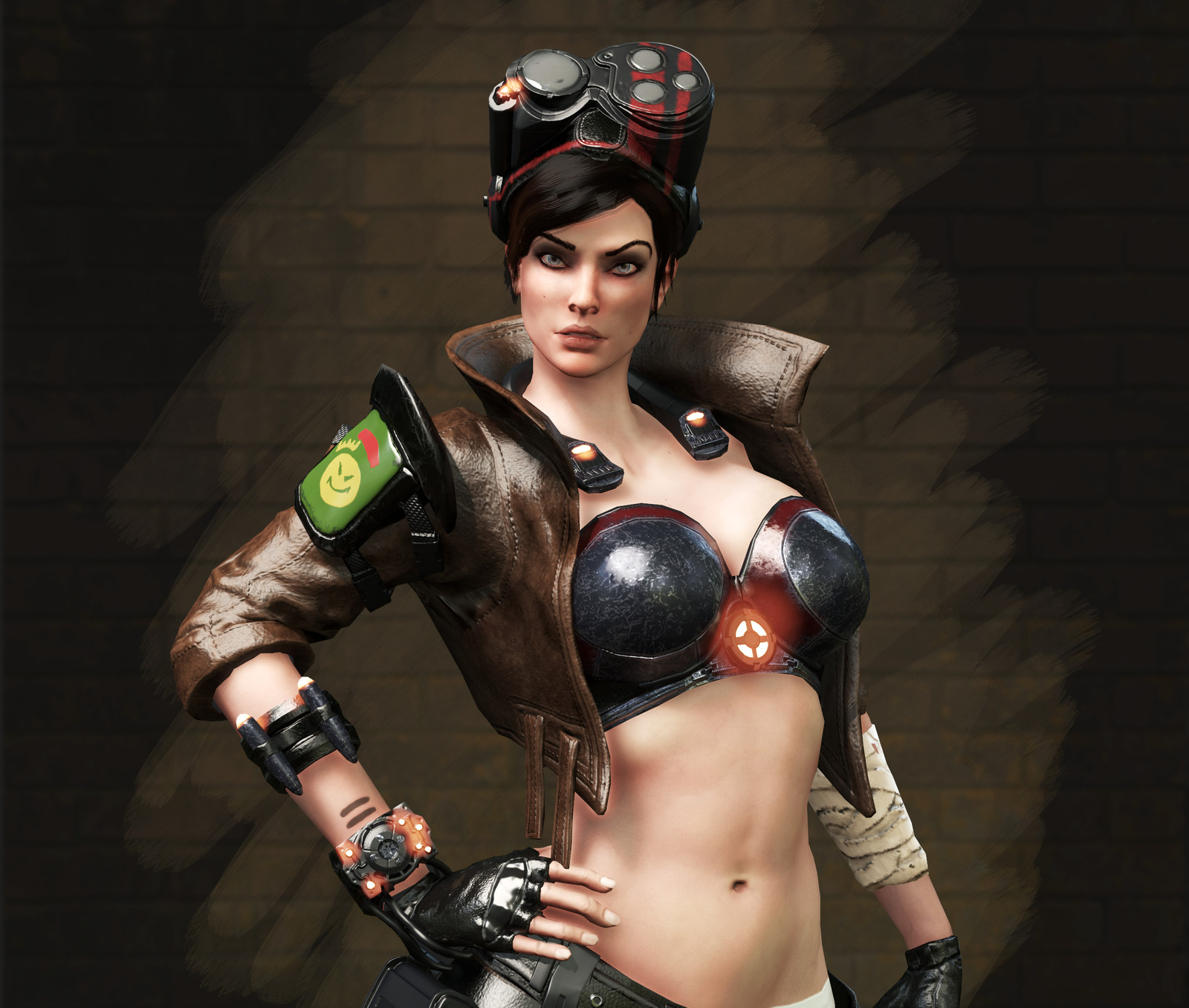 Pilot Female Character - Concept from David-Sladek