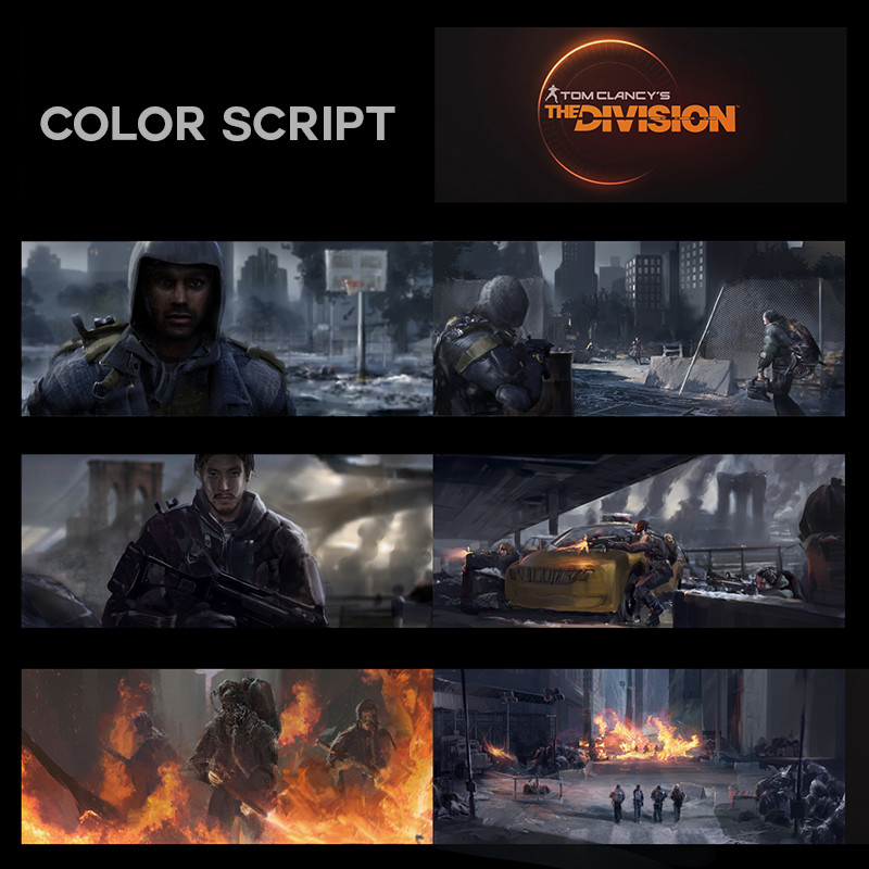 The Division - Color Script