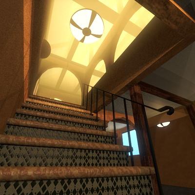 Garrett s flores house vrs2 escalera test1