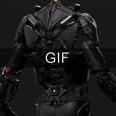 Exoskeleton GIF - FRAMESHIFT GAME CONCEPT ART