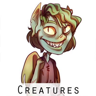 Marie razny creatures