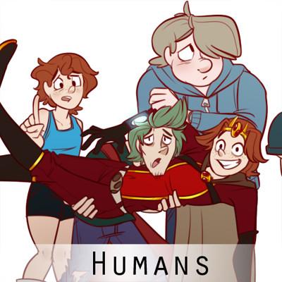 Marie razny humans